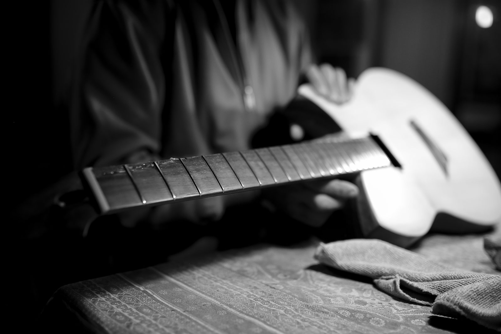 About Davide Pusiol Guitarworks